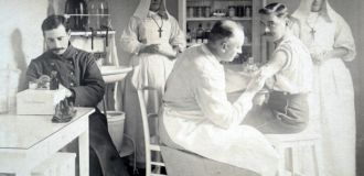 Blessés à Saumur pendant la Grande Guerre